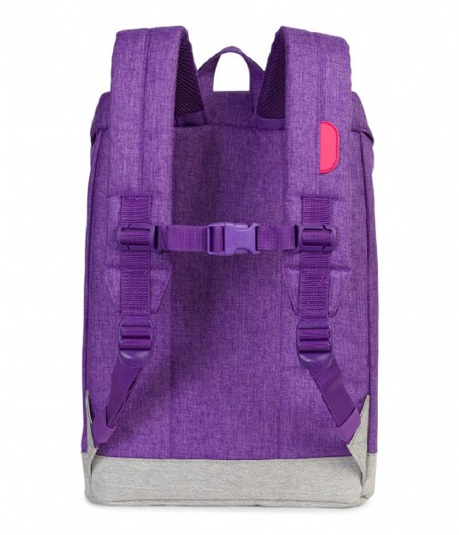 Herschel Supply Co. Dagrugzak Retreat Youth deep lavender crosshatch (02206)