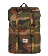 Herschel Supply Co. Retreat Youth woodland camo (02232)