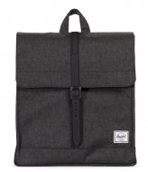 Herschel Supply Co. City Mid Volume black crosshatch/black (02093)