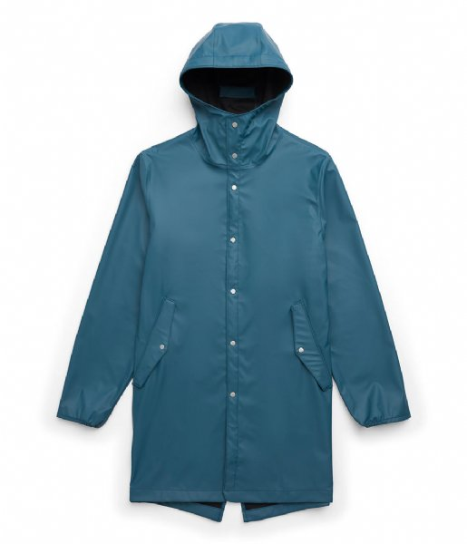 Herschel Supply Co. Regenjas Rainwear Fishtail deep teal (00124)
