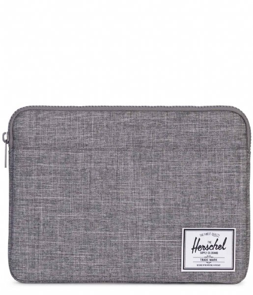 Herschel Supply Co. Laptop sleeve Anchor Sleeve 13 inch Macbook raven crosshatch (02180)