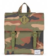 Herschel Supply Co. Survey Kids woodland camo army rubber (01609)