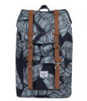 Herschel Supply Co.-Rugzakken-Little America Mid Volume-Zwart