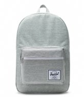 Herschel Supply Co. Pop Quiz 15 Inch light grey crosshatch (01866)