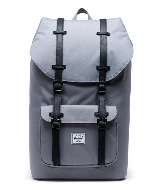 Herschel Supply Co. Laptop rugzak Little America 15 Inch grey black (02998)