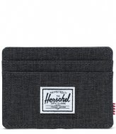 Herschel Supply Co. Wallet Charlie black crosshatch (02090)