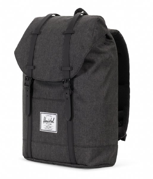 Herschel Supply Co. Laptop rugzak Retreat 15 Inch black crosshatch/black (02093)
