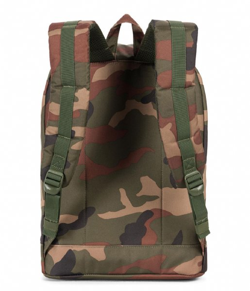 Herschel Supply Co. Laptop rugzak Retreat 15 Inch woodland camo (02232)