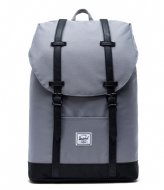 Herschel Supply Co. Retreat Mid Volume 13 Inch grey black (02998)