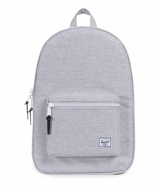 Herschel Supply Co. Laptop rugzak Settlement 15 Inch light grey crosshatch (01866)