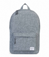 Herschel Supply Co. Classic Mid Volume raven crosshatch (00919)