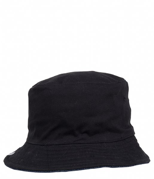 Herschel Supply Co. Hoed - cap Lake Youth Headwear black denim (0050)