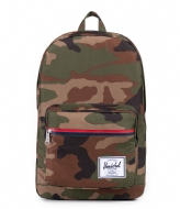 Herschel Supply Co. Pop Quiz 15 Inch woodland camo multi (10011)