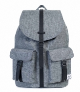 Herschel Supply Co. Dawson Laptop Backpack 15 Inch raven crosshatch (00919)