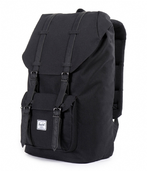 Herschel Supply Co. Laptop rugzak Little America 15 Inch black/black (00535)