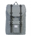 Herschel Supply Co.-Schooltassen-Little America Mid Volume-Grijs
