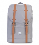 Herschel Supply Co. Retreat Mid Volume 13 Inch grey/tan (00006)