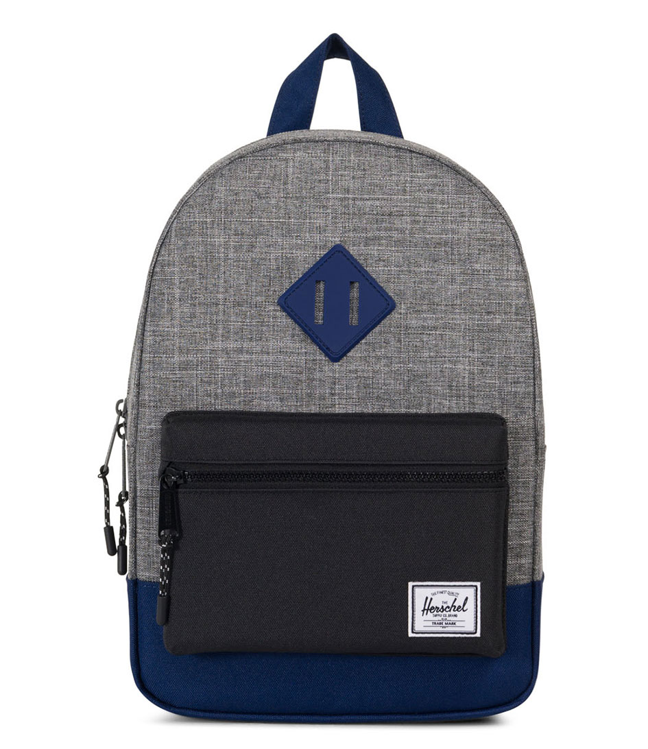 Heritage kids raven crosshatch black blueprint rubber 01905 heritage kids raven crosshatch black blueprint rubber 01905 herschel supply co the little green bag malvernweather Image collections