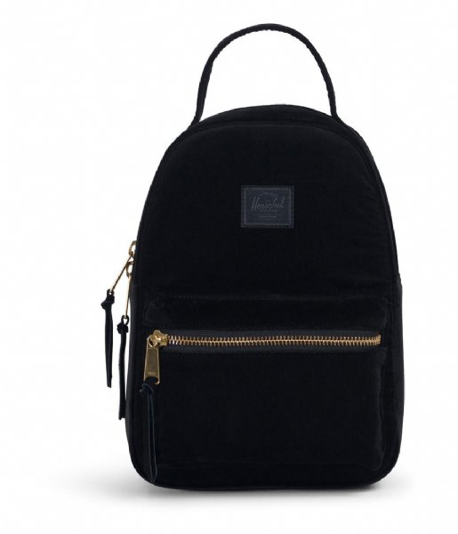 Herschel Supply Co. Rugzak Nova Mini Corduroy black (02335)