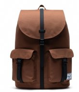 Herschel Supply Co. Dawson 13 Inch saddle brown black (03273)