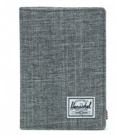 Herschel Supply Co. Raynor Passport Holder raven crosshatch (00919)
