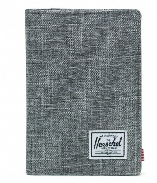 Herschel Supply Co. Paspoorthouder Raynor Passport Holder raven crosshatch (00919)