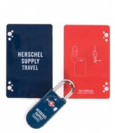 Herschel Supply Co. TSA Card Lock navy red (00018)