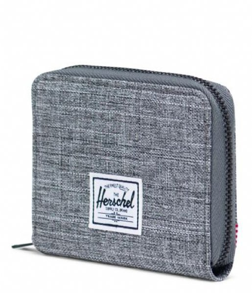 Herschel Supply Co. Ritsportemonnee Wallet Tyler raven crosshatch (00919)