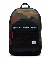 Herschel Supply Co. Athletics Kaine black woodland camo (03181)