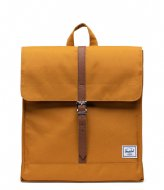 Herschel Supply Co. City Mid Volume buckthorn brown (03258)