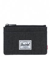 Herschel Supply Co. Oscar RFID black crosshatch (02090)