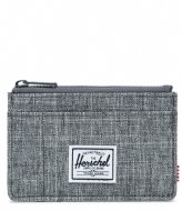 Herschel Supply Co. Oscar RFID raven crosshatch (00919)