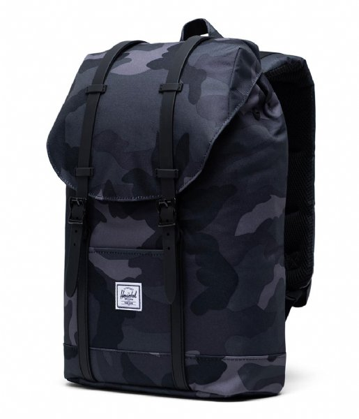 Herschel Supply Co. Laptop rugzak Retreat Mid Volume 13 Inch night camo (02992)