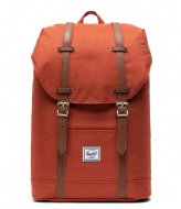 Herschel Supply Co. Retreat Mid Volume 13 Inch picante crosshatch (03002)
