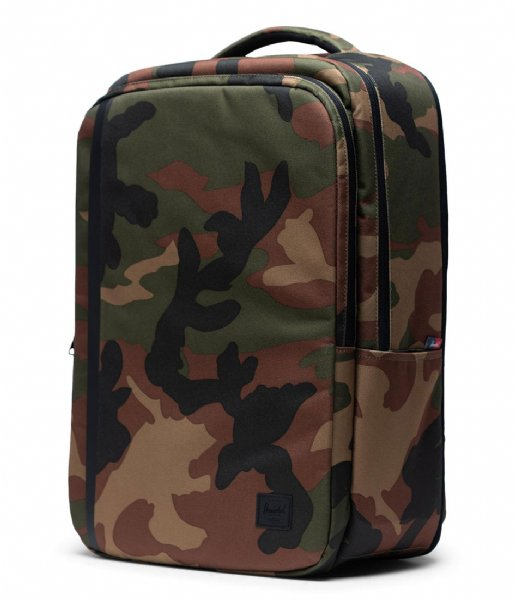 Herschel Supply Co. Laptop rugzak Travel Backpack 15 Inch woodland camo (00032)