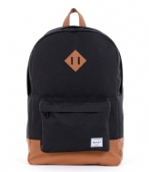 Herschel Supply Co. Heritage 15 Inch black & tan