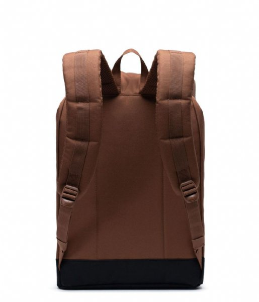 Herschel Supply Co. Laptop rugzak Retreat 15 Inch saddle brown black (03266)