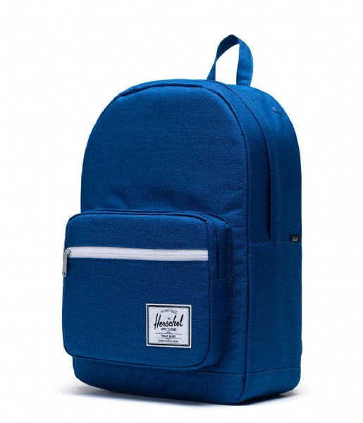 Herschel Supply Co. Laptop rugzak Pop Quiz 15 Inch monaco blue crosshatch (03262)