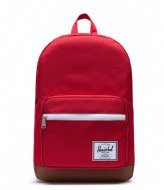 Herschel Supply Co. Pop Quiz red saddle brown (03271)
