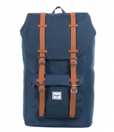 Herschel Supply Co. Little America 15 Inch navy & tan (00007)