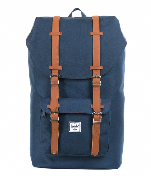 Herschel Supply Co. Laptop rugzak Little America 15 Inch navy & tan (00007)