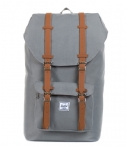Herschel Supply Co.-Laptoptassen-Little America Mid Volume-Grijs
