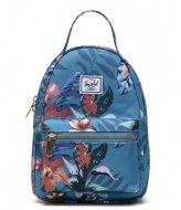 Herschel Supply Co. Nova Mini Summer Floral Heaven Blue (03894)