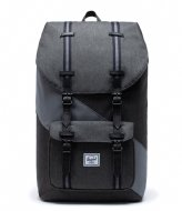 Herschel Supply Co. Little America Select 15 Inch Black Crosshatch/Quiet Shade/Periscope (04061)