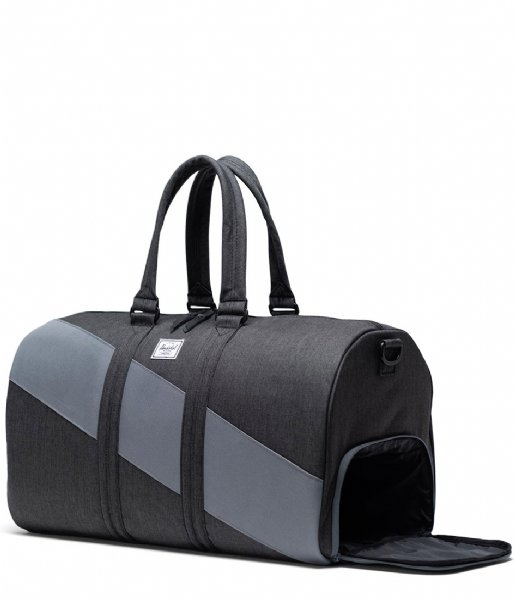 Herschel Supply Co. Reistas Novel Select Black Crosshatch/Quiet Shade/Periscope (04061)