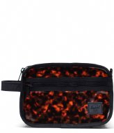 Herschel Supply Co. Chapter Clear Bags Tortoise Shell (04139)