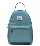 Herschel Supply Co. Nova Mini Oil Blue Crosshatch (04088)