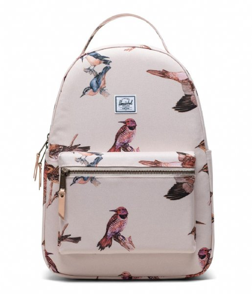 Herschel Supply Co. Dagrugzak Nova Mid Volume Birds of Herschel 13 Inch natural birds (04086)