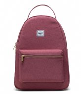 Herschel Supply Co. Nova Mid Volume Deco Rose Slub (04076)