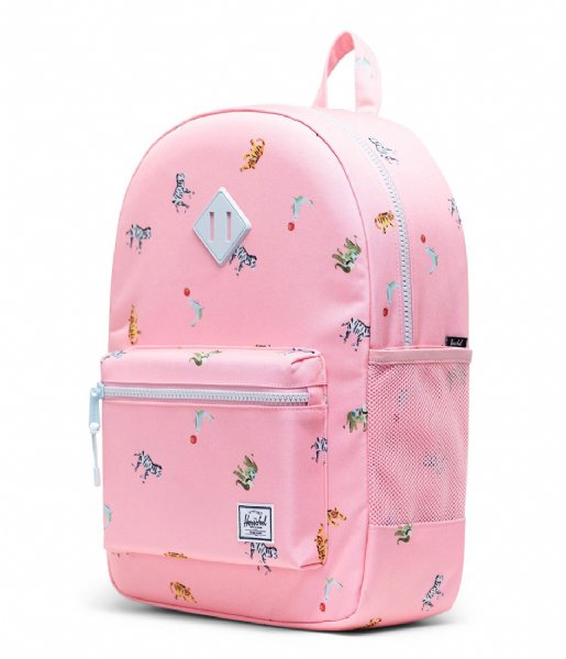 Herschel Supply Co. Dagrugzak Heritage Youth XL Candy Pink Circus Animals (04069)